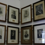 Portraits of past Mayors of Knysna in the Knysna Museum