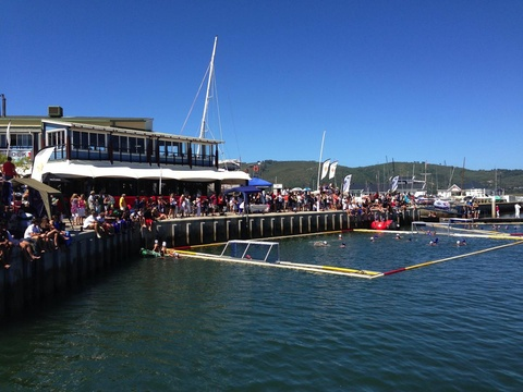 Water polo at the Knysna Waterfront - Visit Knysna