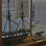 Model of ss Albatross in the Knysna Museum