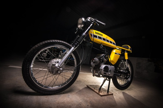 The Motorcycle Room Knysna - Yamaha FS3 50CC custom