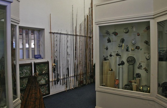 Angling collection in the Old Gaol at the Knysna Museum