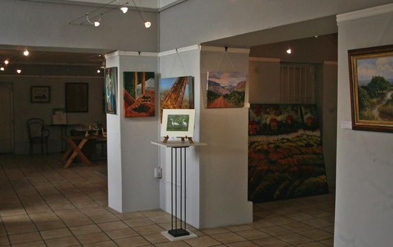 Art Gallery in the Old Gaol at the Knysna Museum