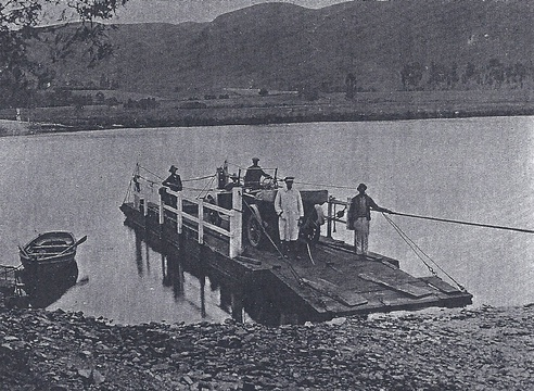 Knysna River pontoon, ca. 1920