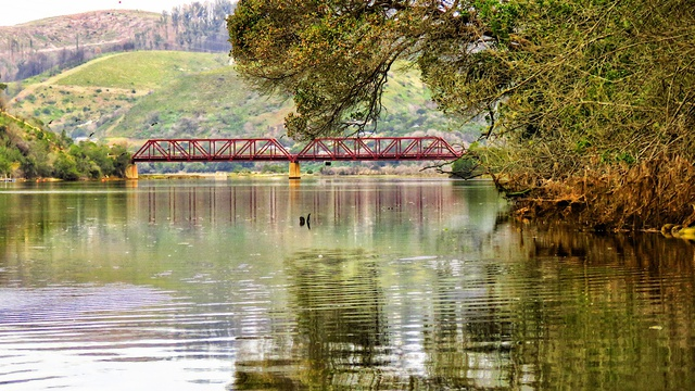 The Red Bridge, Knysna River. Image: Rose Bilborough - gotravelbug.co.za