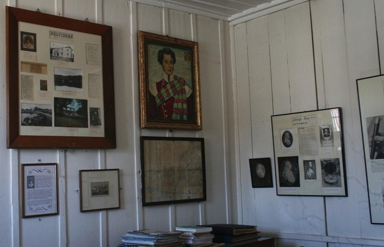 Reading room in Millwood House at the Knysna Museum