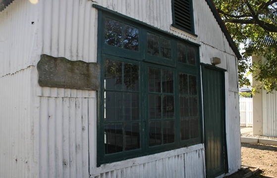 Parkes Shop at the Knysna Museum (Timber and forestry display)