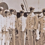 Wardroom officers of HMS Verbena, 1930