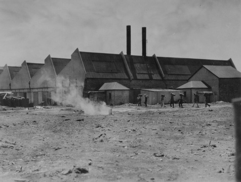 Thesen's saw mill, Paarden Island (later Thesen's Island), Knysna, mid-20th Century