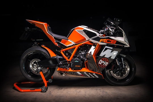 The Motorcycle Room Knysna - KTM RC8