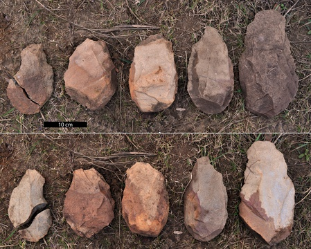 Early Stone Age archaeology, Knysna. Pic: SACP4 Project